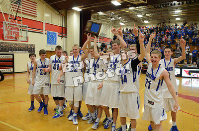 Step IV: BBE wins section crown! 86-52 W