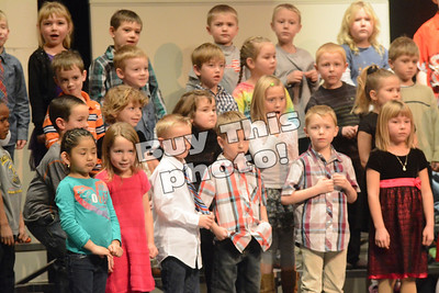Elementary school Christmas Pageant